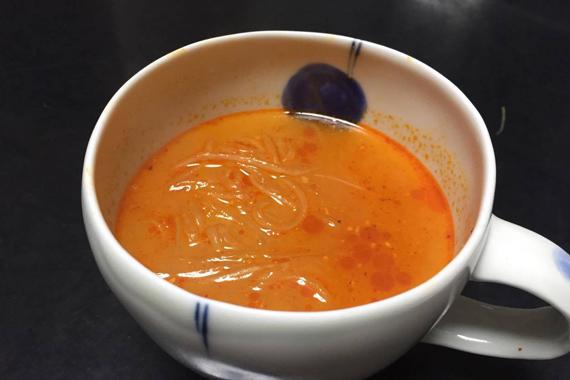 かんたんにスープができます